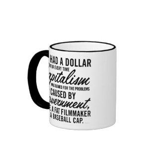 Blaming Capitalism Mug
