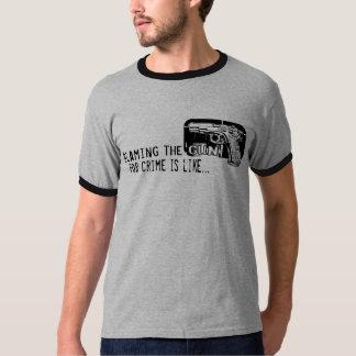 Blaming the Gun T-shirt