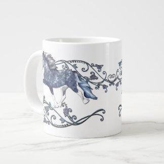 Blámóða 20 Oz Large Ceramic Coffee Mug