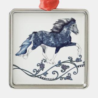 Blámóða Metal Ornament