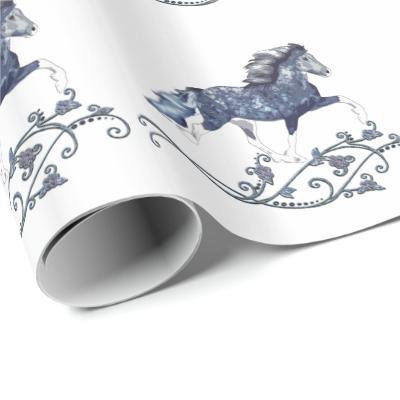 Blámóða Wrapping Paper