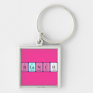 Blanch periodic table name keyring keychain