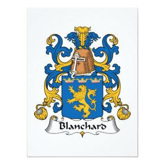 Blanchard Family Crest Custom Announcements