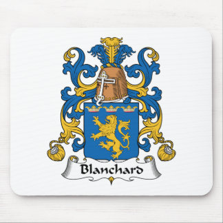 Blanchard Family Crest Mouse Pad