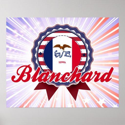 Blanchard, IA Poster
