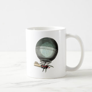Blanchard Vintage Hot Air Balloon Coffee Mug