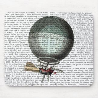 Blanchard Vintage Hot Air Balloon Mouse Pad