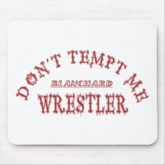 Blanchard Wrestler Mouse Pad