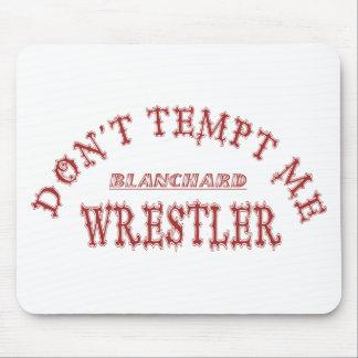 Blanchard Wrestler School Color Mouse Pad