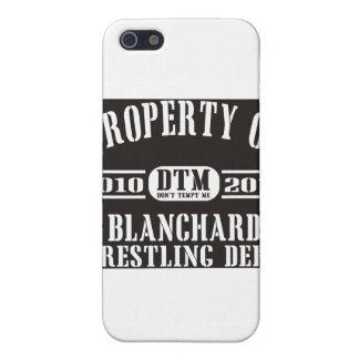 Blanchard Wrestling Dept. Cover For iPhone SE/5/5s