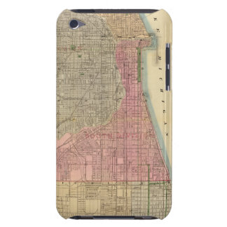 Blanchard's guide map of Chicago Barely There iPod Case