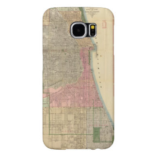 Blanchard's guide map of Chicago Samsung Galaxy S6 Case
