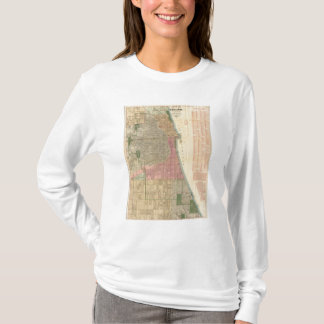 Blanchard's guide map of Chicago T-Shirt