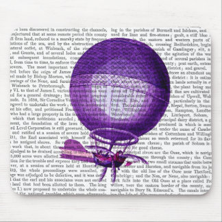 Blanchards Hydrogen (Purple) Hot Air Balloon Mouse Pad
