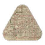 Blanchard's map of Chicago Speaker