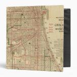 Blanchard's map of Chicago Vinyl Binders