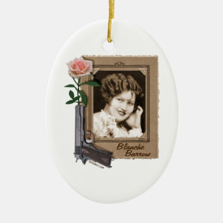 Blanche Barrow Ceramic Ornament