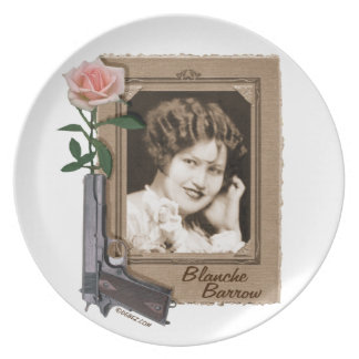 Blanche Barrow collector plate