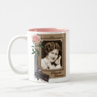 Blanche Barrow Two-Tone Coffee Mug