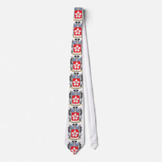 Blanche Coat of Arms - Family Crest Tie