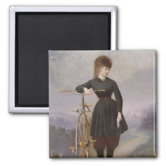 Blanche d'Antigny  and her Velocipede Magnet