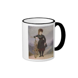 Blanche d'Antigny  and her Velocipede Ringer Mug