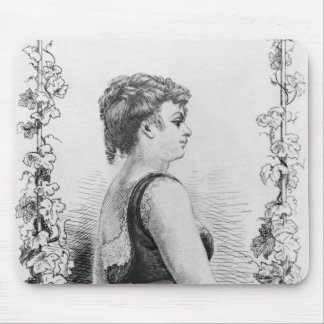 Blanche d'Antigny Mouse Pad