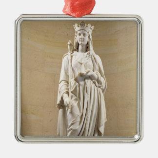 Blanche de 1188-1252) reinas del Castile (de Adorno Navideño Cuadrado De Metal
