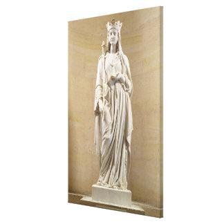 Blanche de 1188-1252) reinas del Castile (de Franc Impresión En Tela