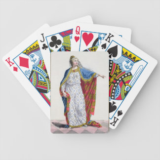 Blanche de Castile (1185/88-1252) Queen of France Bicycle Playing Cards
