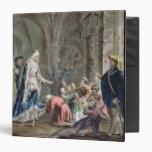 Blanche de Castille (1185-1252) Breaks up the Pris Vinyl Binders