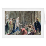 Blanche de Castille (1185-1252) Breaks up the Pris Greeting Cards