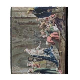 Blanche de Castille (1185-1252) Breaks up the Pris iPad Folio Cases