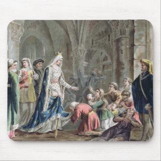 Blanche de Castille (1185-1252) Breaks up the Pris Mouse Pad