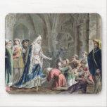 Blanche de Castille (1185-1252) Breaks up the Pris Mousepad