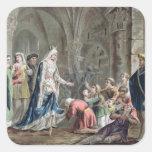 Blanche de Castille (1185-1252) Breaks up the Pris Sticker