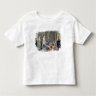 Blanche de Castille (1185-1252) Breaks up the Pris Toddler T-shirt