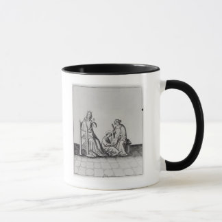 Blanche de Castille Queen of France and her Mug