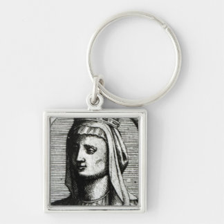 Blanche de Castille  Queen of France Keychain