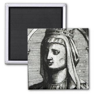 Blanche de Castille  Queen of France Magnet