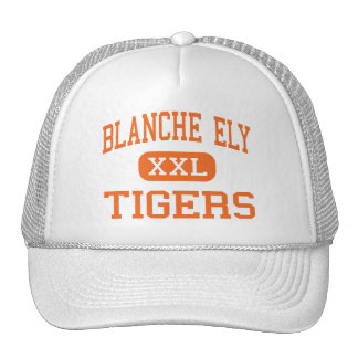Blanche Ely - Tigers - High - Pompano Beach Trucker Hat