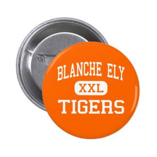 Blanche Ely - tigres - alto - playa del pompano Pin