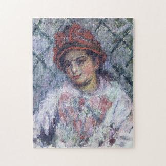 Blanche Hoschede Monet Fine Art Jigsaw Puzzle