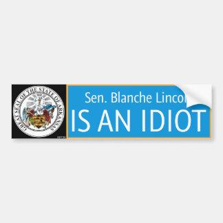 Blanche Lincoln Bumper Sticker