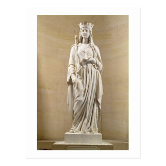 Blanche of Castile (1188-1252) Queen of France, 18 Postcard
