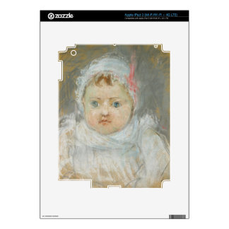 Blanche Pontillon as a Baby, 1872 (pastel on paper iPad 3 Decals