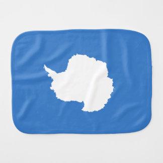 Blanco azul de la bandera de Graham Bartram la Paños De Bebé