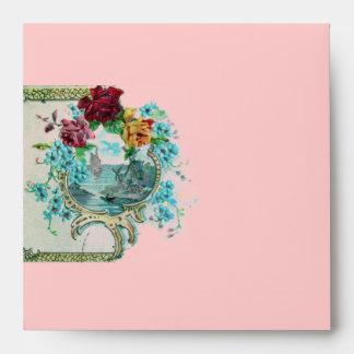 Blanco azul rosado rojo de ROMANTICA 3