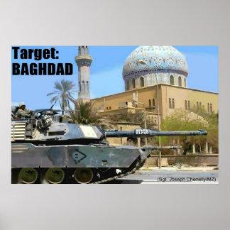 Blanco: Bagdad Póster