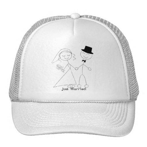 Blanco casado del gorra del KRW apenas